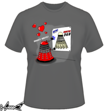 new t-shirt #Dalek finds a date