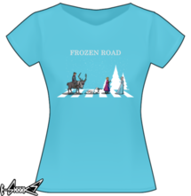 t-shirt #Frozen #Road online