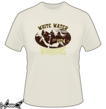 new t-shirt white water warriors