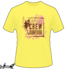 new t-shirt Coastal Crew Surfside
