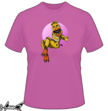 new t-shirt Chicka the Chicken