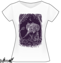t-shirt Night Elephant online