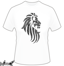 new t-shirt Lion Tattoo Tribal Style
