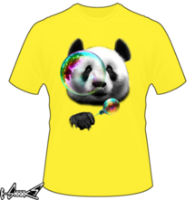 t-shirt Panda Bubble online