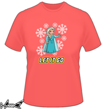 new t-shirt let it Go Lego