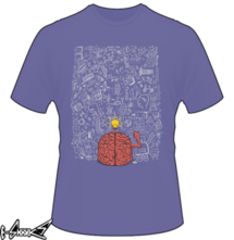 t-shirt My #Brain Won't #stop online
