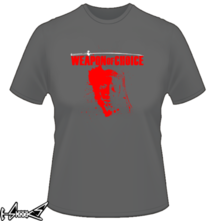 t-shirt Weapon of Choice_Michonne online