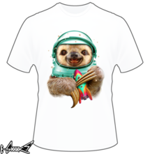 new t-shirt SpaceSloth