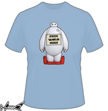 new t-shirt Free Warm Hugs from Baymax
