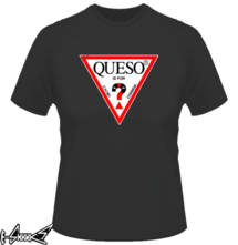 new t-shirt Queso is for Chimichanga