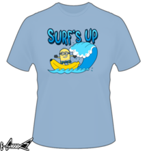 new t-shirt Banana Surfing