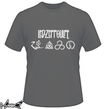 t-shirt #Led #Zeppoulpe online