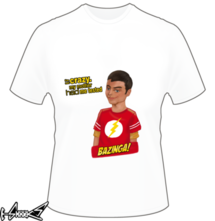 "new t-shirt Sheldy ""the big bang theory"""