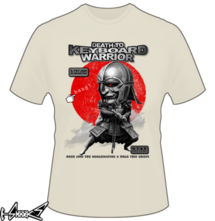 t-shirt KEYBOARD WARRIOR online
