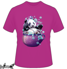 new t-shirt Panda Bath
