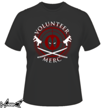 t-shirt Volunteer Merc online