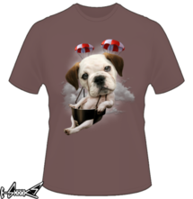 t-shirt BULLDOG PARACHUTING online