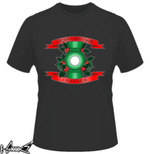 t-shirt Green Christmas Lantern online