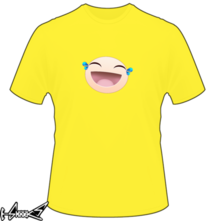 new t-shirt Smile Sticker