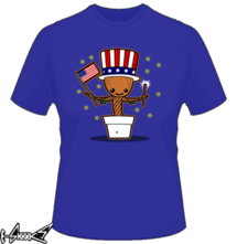 t-shirt Star-spangled Groot online