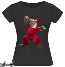 new t-shirt KUNG-FU CAT