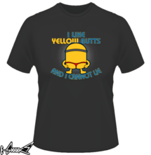 t-shirt I like yellow butts and i cannot lie online
