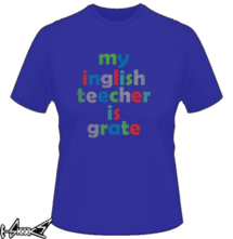new t-shirt ENGLISH TEACHER