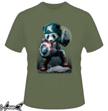 new t-shirt Captain Panda