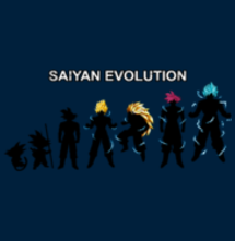 magliette t-sharks.com - Saiyan Evolution