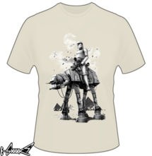 new t-shirt STORMTROOPER RIDING ATAT