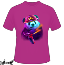 t-shirt Panda Firefighter online