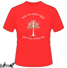 t-shirt White Christmas Tree of Gondor online