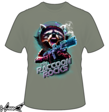 t-shirt Raccoon Rocks online