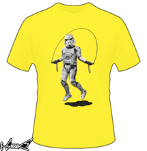 new t-shirt Stormtrooper Skipping
