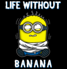 magliette t-sharks.com - Life without banana