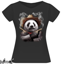 new t-shirt PANDA CROSSGUNS