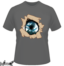 new t-shirt The eye of the forest