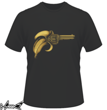 new t-shirt #banana #gun