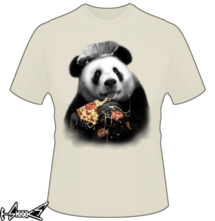 t-shirt Panda Loves Pizza online