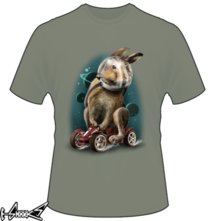 new t-shirt Rabbit Space Racer