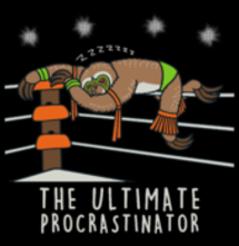 magliette t-sharks.com - The Ultimate procrastinator