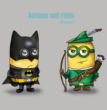 magliette t-sharks.com - Batman and Robbin (hood)