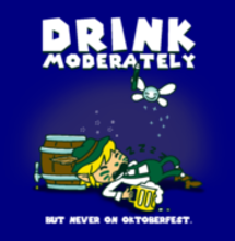 magliette t-sharks.com - Drink Moderately