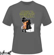 new t-shirt STAR WASH
