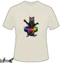 new t-shirt Hoolahoop Cat