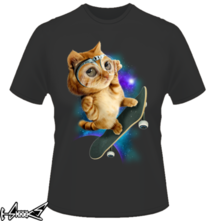 t-shirt SKATEBOARD CAT online