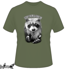 t-shirt Stay Calm - Give In online