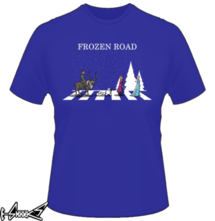 t-shirt Frozen Road online