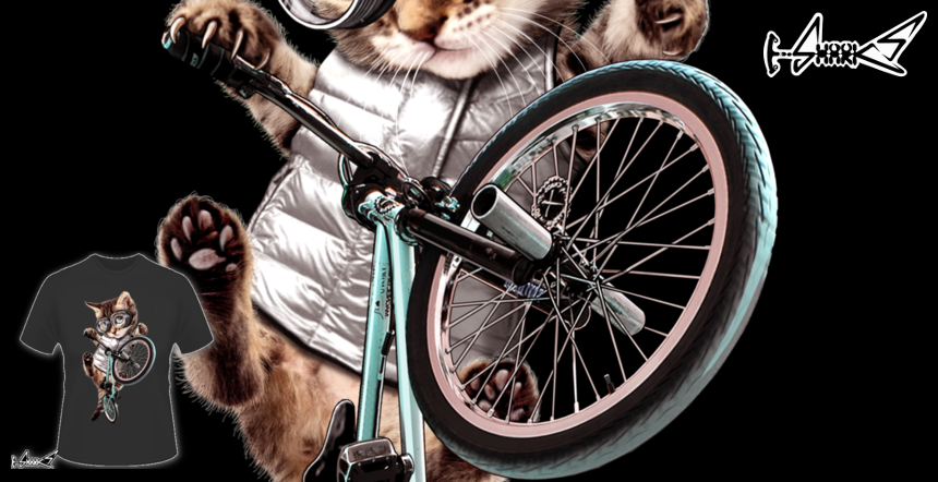 BMX CAT T-shirts - Designed by: ADAM LAWLESS