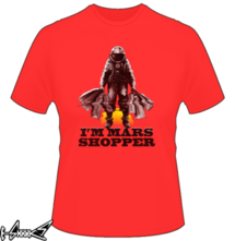 new t-shirt MARS SHOPPER